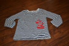 F10- Carter's Striped Long Sleeve Top Size 6/6X