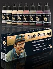 Scale 75, Flesh Paint Set, 8 colors 17ml bottles, New in Box