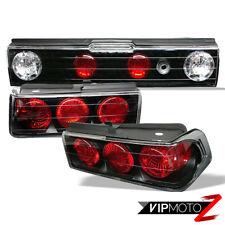 Honda CRX 88-91 2DR HF/Si 2DR Coupe 1.5 1.6 JDM Black Tail Light Brake Lamp L+R