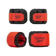 Reebok Flexlock Ankle Weights Running Walking Leg Gym Workout 0.5kg 1kg Pairs