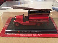 "Die Cast "" 1929 Fire Engine Chevrolet "" Firefighters of Fire Del Prado 1/50"