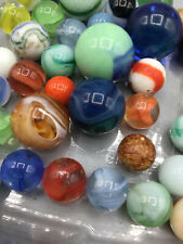 Antique Vintage Marbles, some have small chips