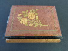 Spieluhr, made in Italy, Lackiertes Holz, 12 x 9cm, Lara´s Theme, gebraucht