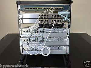 CISCO CCNA CCNP V2.0 R&S  LAB KIT  12U RACK INCLUDED