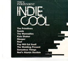 (FP895) The Independent, Indie Cool, 10 tracks various artists - 2008 CD