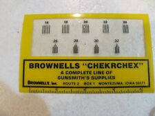 Brownells Checkering Gauge