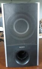 Sony SS-WS82 passive subwoofer speaker with speaker wire and connector