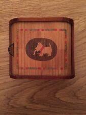 Art Deco Scotty Dog Box With Sliding Concertina Lid cigarette box