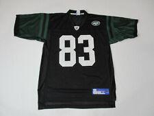 Reebok Santana Moss New York Jets Football Jersey Adult Medium Black Green Mens