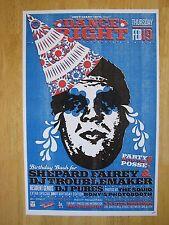 Shepard Fairey & Matt Goldman | Dance Right 136 poster | Los Angeles 2009