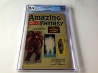 AMAZING ADULT FANTASY 11 CGC 2.5 STAN LEE STEVE DITKO MARVEL COMICS