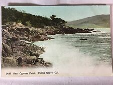 Vintage Cypress Point, Pacific Grove, CA postcard unposted early 1900s