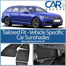 AUDI A4 AVANT 2015+ B9 UV CAR SHADES WINDOW SUN BLINDS PRIVACY GLASS TINT BLACK