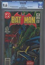 Batman #344 CGC 9.6 (1982) White Pages Poison Ivy