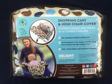 Croc n Frog Child seat Shopping Cart & High Chair cover New