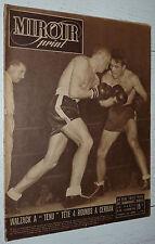 MIROIR SPRINT N°90 1948 FOOTBALL REIMS LOSC BOXE CERDAN-WALZACK RUGBY CYCLISME