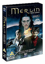 Merlin - Series 3 Vol.1 (DVD, 2010, 3-Disc Set) Brand new and sealed