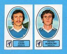 PANINI CALCIATORI 1977/78 - Figurina n.383- CAGNI+BUSSALINO-BRESCIA -Rec