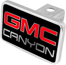 New GMC Canyon Red/Mirrored Logo Tow Hitch Cover Plug