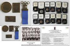 Olympic Games 1936 badge pin European Swimming Championships 1938 Winner medal