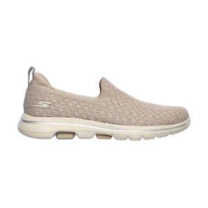 Skechers Go Walk 5 - Brave Women's Shoe - Taupe