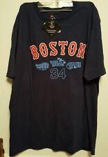 World Series T-Shirt XL. David Ortiz Boston Red Sox #34, Majestic