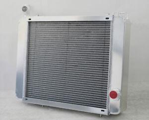 4 Row 62mm Core Aluminium Radiator For Triumph STAG Engine Cooling