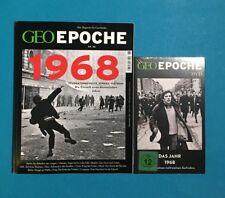 Geo Epoche Nr.88 Das Magazin Für Geschichte 1968 mit DVD ungelesen 1A