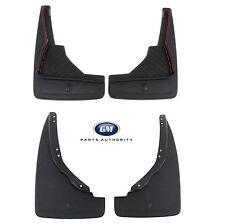 14-17 Chevrolet SS Front & Rear Molded Splash Guards Black Genuine OEM GM