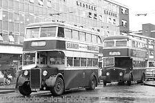 Cardiff Corporation 46 EBO900 Crossley 6x4 Bus Photo Ref P051