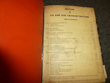 Case 310 & C Crawler Tractor Dozer Shop Service Repair Manual 970011