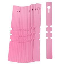 100pcs PVC Wrap Around Plastic Plant Label Tree Tags Pink