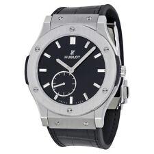 Hublot Classic Fusion Black Dial Titanium Mens Watch 515NX1270LR