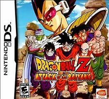 Dragon Ball Z Attack Of The Saiyans DS GAME  NEW Sealed!!!!