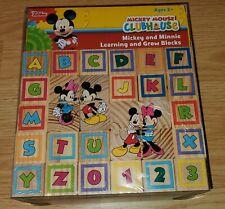 Disney Mickey Mouse Clubhouse Mickey & Minnie Learning & Grow Blocks 40 Pc NIB