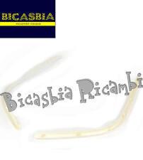 9346 - BORDO PEDANA BIANCO PIAGGIO 50 125 150 VESPA SPRINT PRIMAVERA DAL 2013