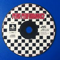 Peak Performance Sony Playstation 1 DISC ONLY Rare