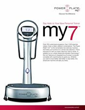 POWER PLATE MY7 Whole Body Vibration Detoxify Increase Bone Density Strength
