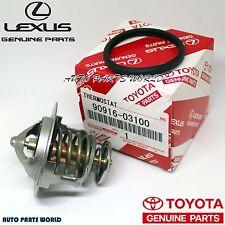 GENUINE TOYOTA LEXUS 4RUNNER GS430 THERMOSTAT W/GASKET 90916-03100 & 16346-50010