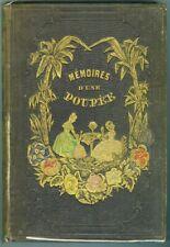 Mémoires d`une Poupée par J Gouraud vers 1850 12 lithographies beau cartonnage