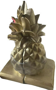 2-Piece Golden Pineapple Book Support Stand Holder SET - NWT