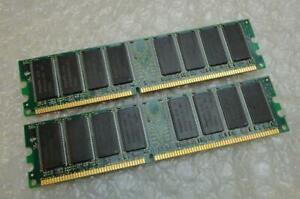 1GB Kit DDR1 PC2700 333MHz Memory Upgrade for Dell Dimension 2400C Computer
