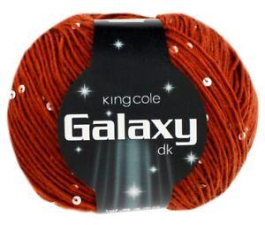 King Cole Galaxy DK - Pailletten-Garn für den glamourösen Auftritt