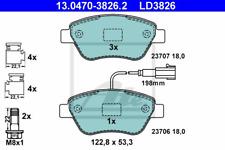 Bremsbelagsatz Scheibenbremse ATE Ceramic - ATE 13.0470-3826.2