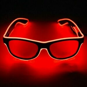 light up Neon Rave glasses glow LED sunglasses costumes for party halloween hot