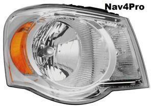 NEW 2007 - 2009 Chrysler Aspen Right Passenger Side OE Style Headlight