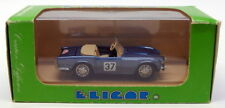 Eligor 1/43 Scale Model Car 1135 Triumph TR5 1968 #37 Coupe Des Alpes - Met Blue
