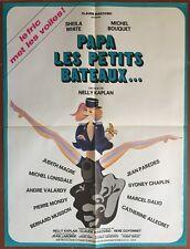 Plakat Papa Kleine Boote Sheila White Nelly Kaplan 60x80cm *