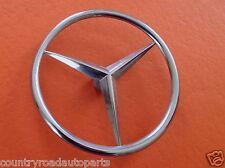 OEM 1980-1981-1982-1983-1984-1985 Mercedes Benz 500SEC Tristar Trunk Emblem.