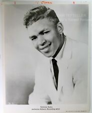 ORIGINAL 1960's 8x10 Publicity Photo Solomon Burke Soul